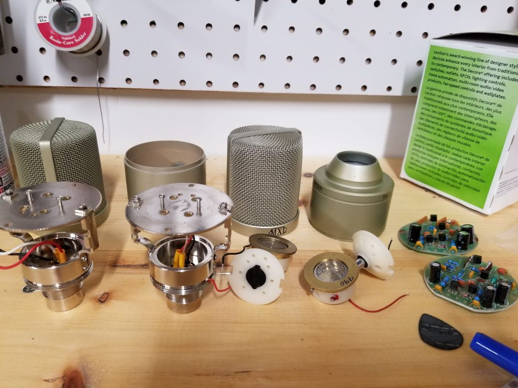 mxl 990 donor mics taken apart