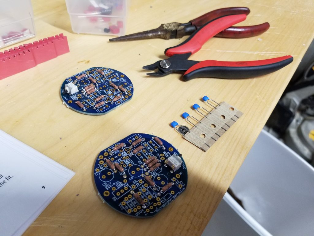 mic parts mxl 990 circuit boards