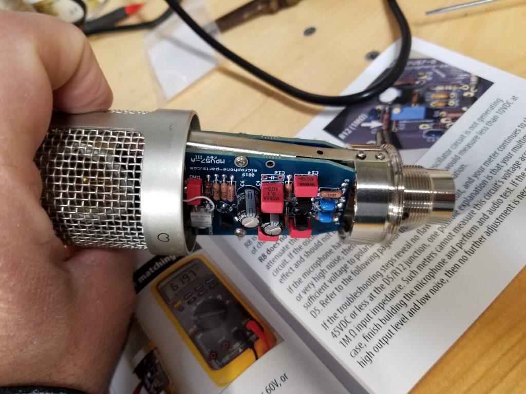 mxl910 with mpv57 kit