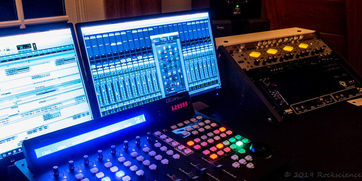 control surface and pro tools