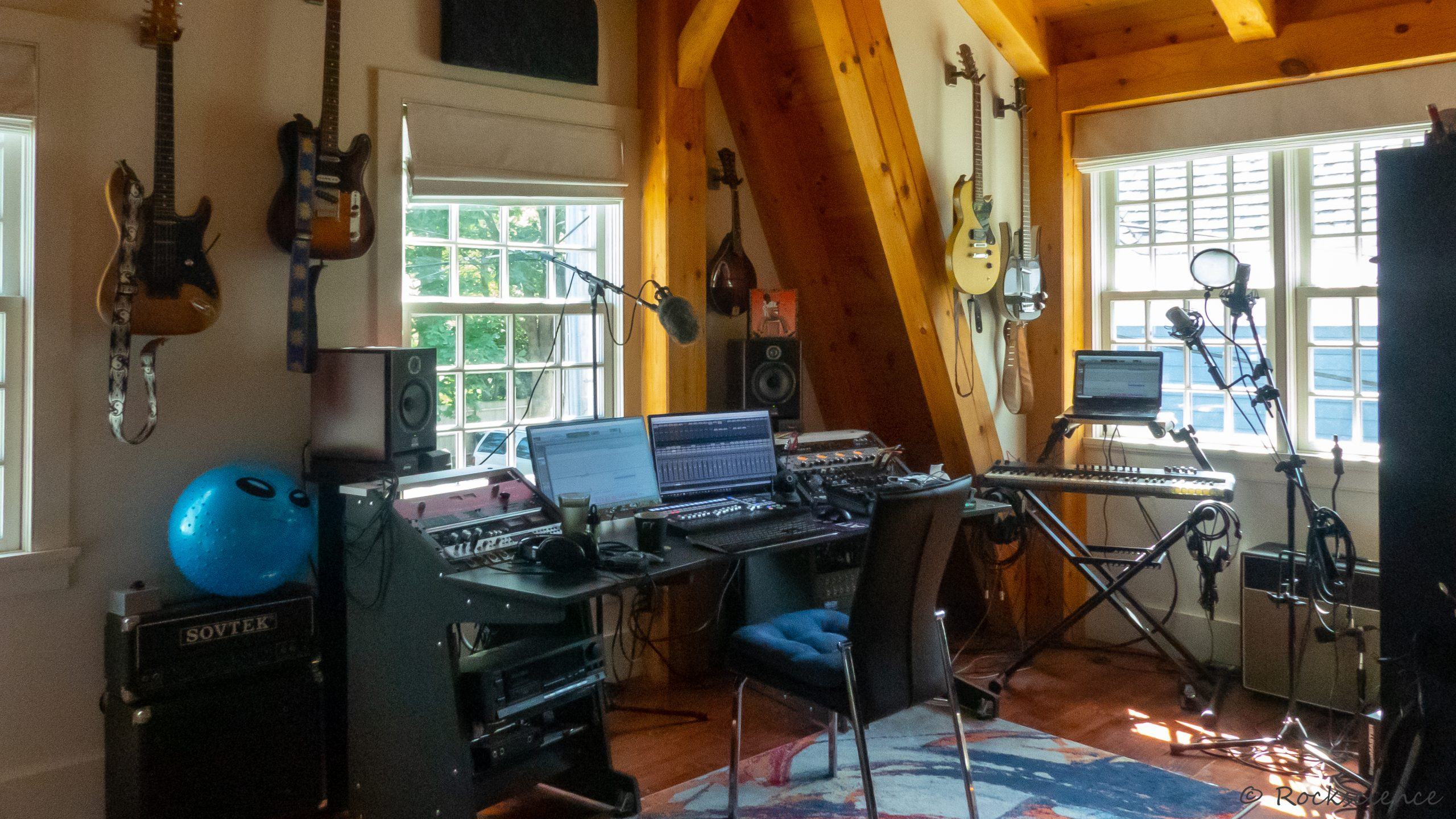 rock science mix room