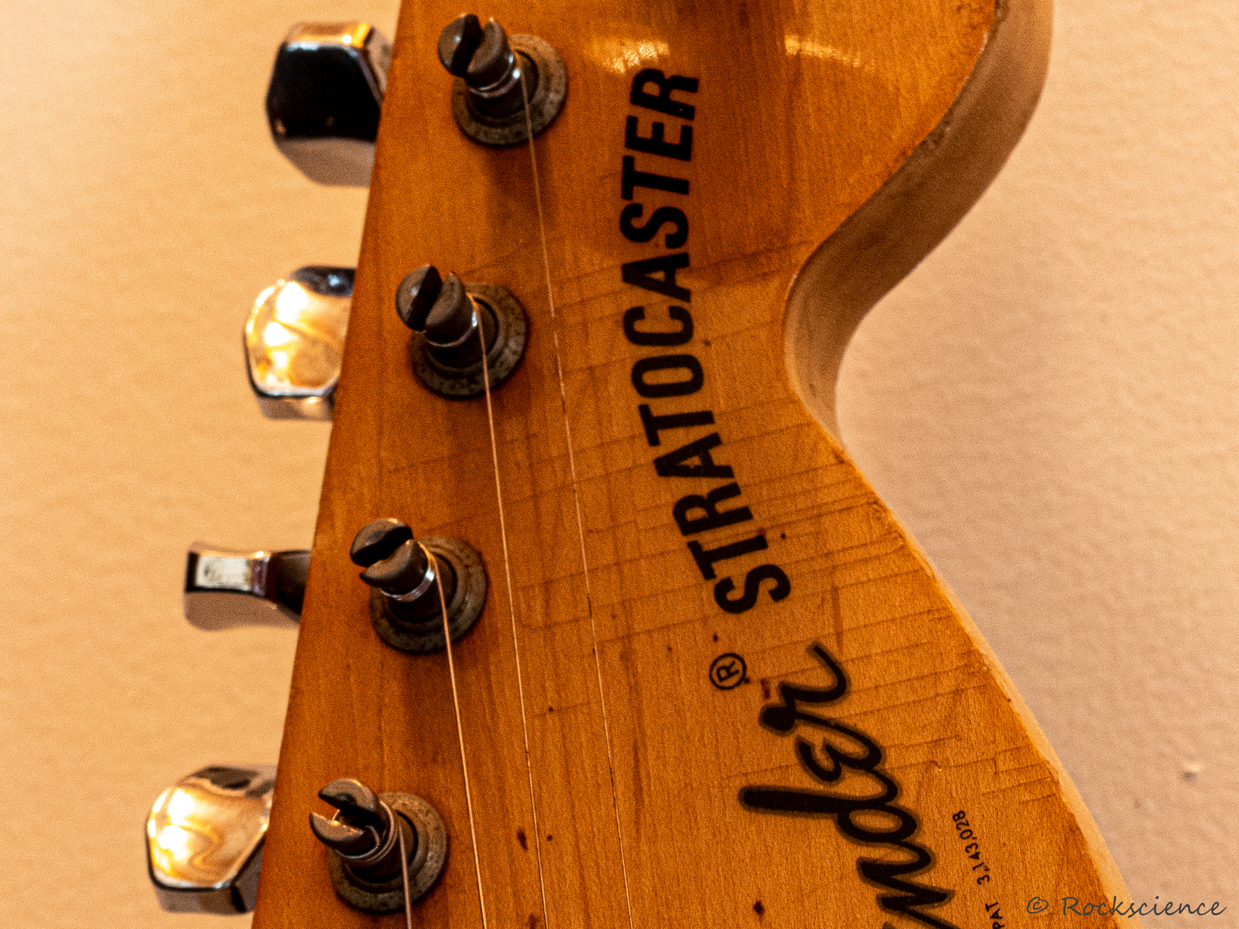 headstock of my 1974 stratocaster