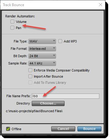 pro tools export