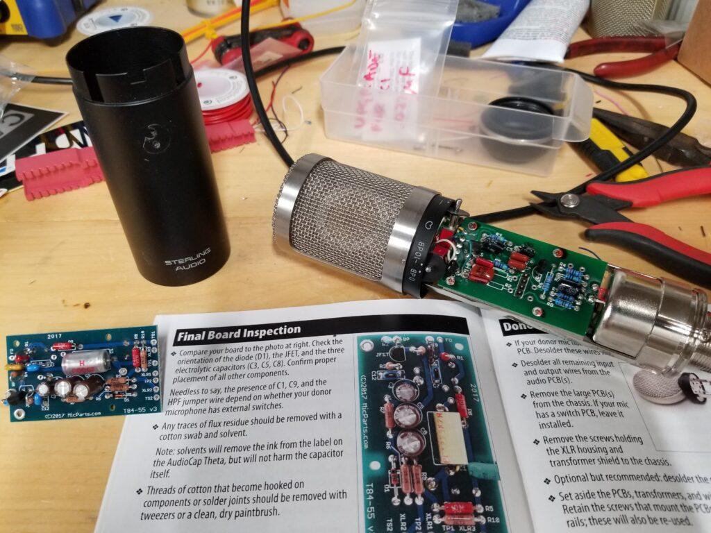 st55 mic kit