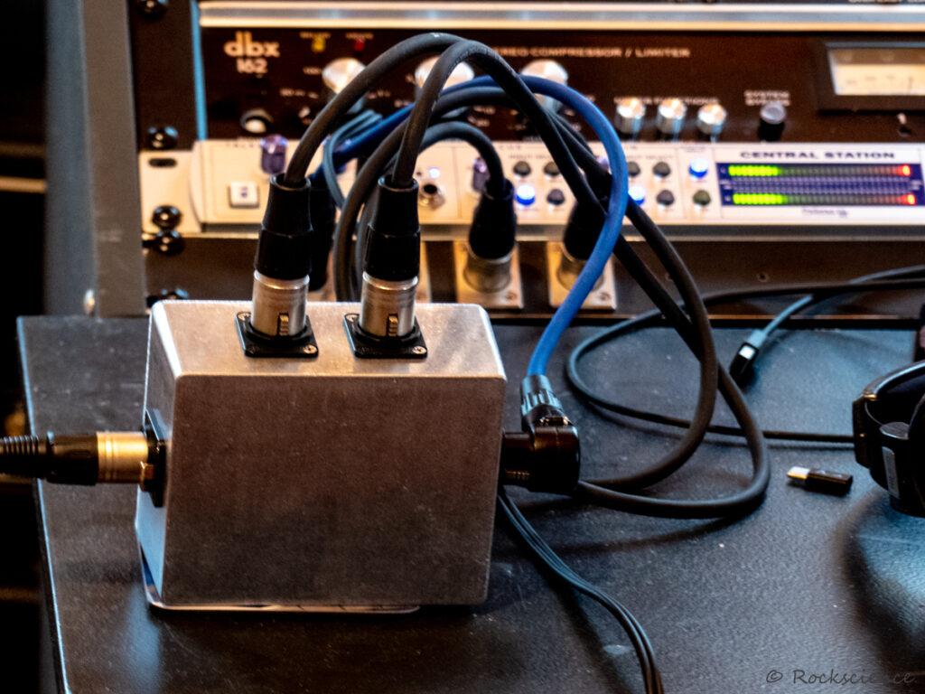 jensen transformer mic splitter