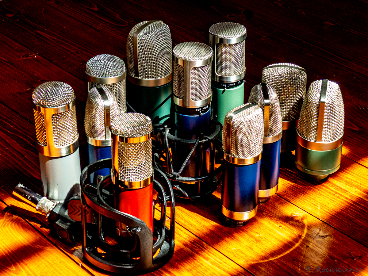 Microphone Mods and Custom Mic Builds